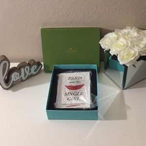 KATE SPADE PARIS AND THE SINGLE GIRL TRAY